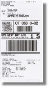 UPS Smart Shipping Label with Document Label